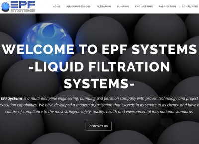 Engineering, Pumping & Filtration Company – EPF Systems