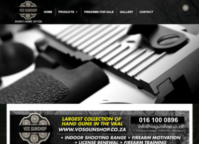 Gun Shop in the Vaal Triangle