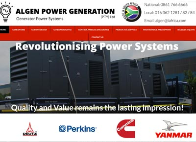 Diesel Generator Supplier – ALGEN Power Generation